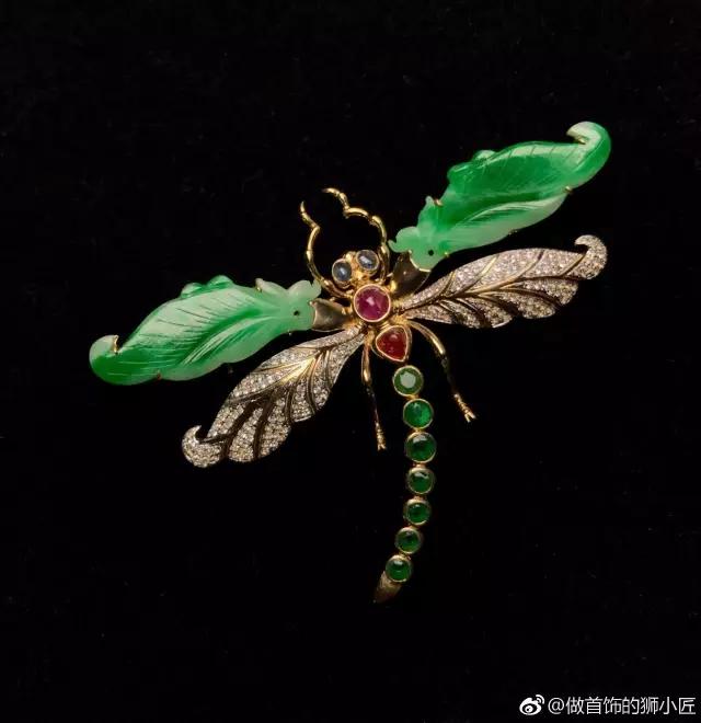 蜻蜓首饰图
