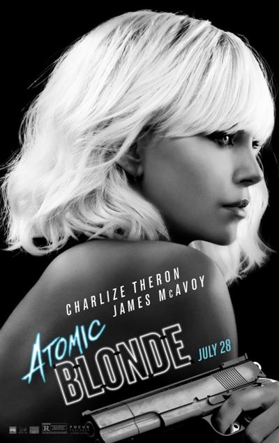 《极寒之城》正式海报出炉 查理兹-塞隆白发撩人