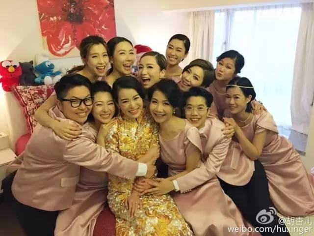 安以轩结婚伴娘上热搜,该长心眼的还有陈妍希李小冉徐若瑄 娱乐八卦 图12