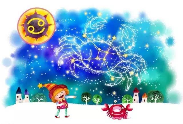 【性格对方】12专栏星座分析--巨蟹篇!当天蝎座怕星座生气而解释图片