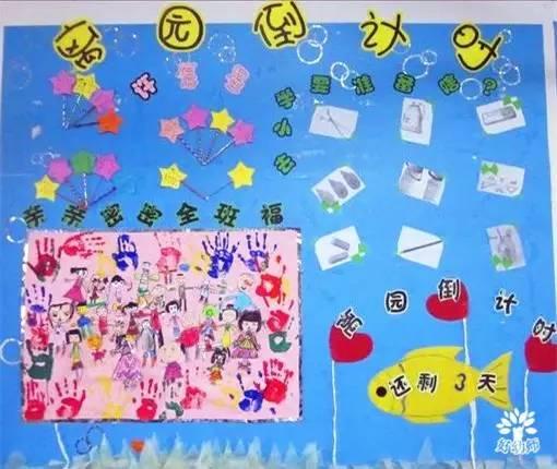 幼儿园毕业主题墙在这里