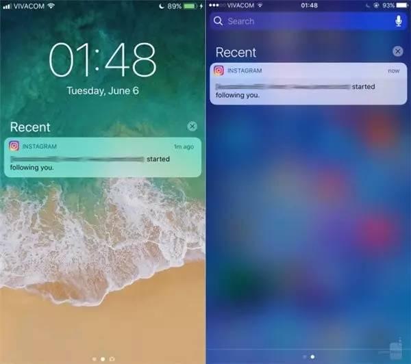 iOS11与iOS10界面对比 控制中心全新设计够大胆