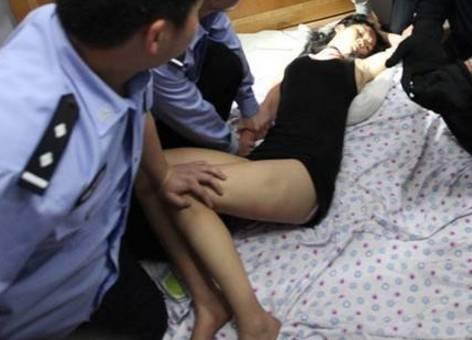 现场男性尸体刘某(45岁),民房内女性尸体刘某翠(43岁),两人都是肥东县
