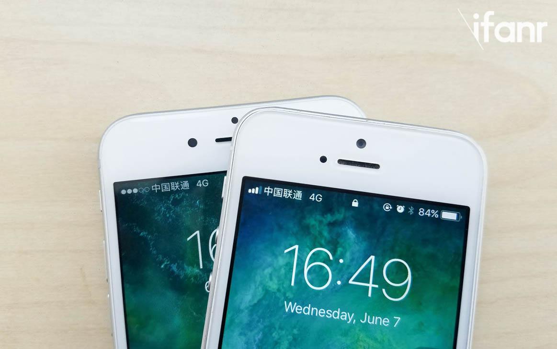 iOS 11改了信号栏图标,看出新 iPhone 要用双卡双待?
