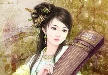 晋朝当时很流行翠眉,可以说当时的美女大多都是翠眉.