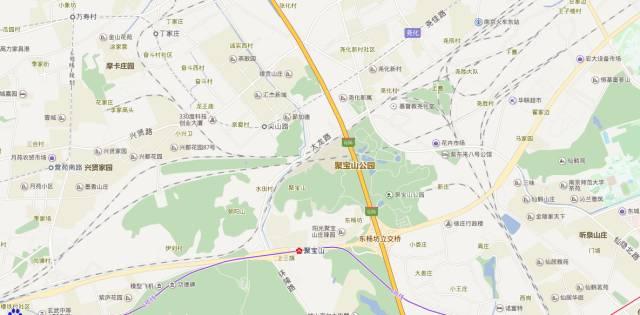 丁家庄地铁站规划图