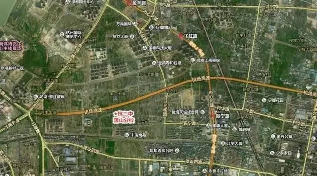 萧山规划局:至2020年萧山规划图片