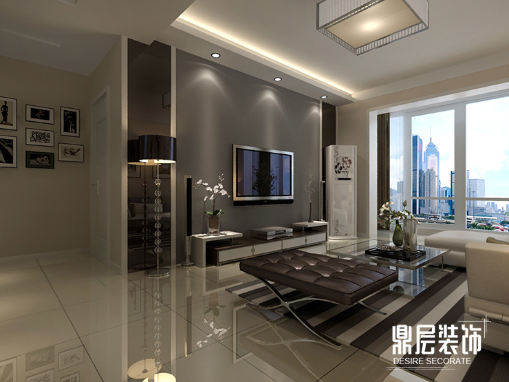 郑州天骄华庭160平方四室两厅装修效果图