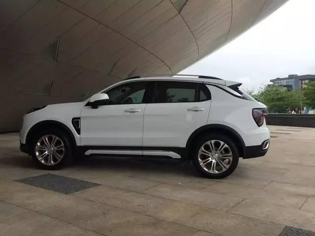 吉利领克第一款SUV 01车型申报信息大曝光高清图片