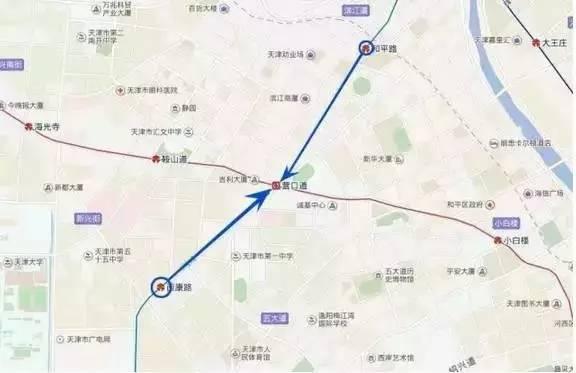 1号线换乘3号线-地铁营口道站6月19日起施工改造 3号线经站不停图片