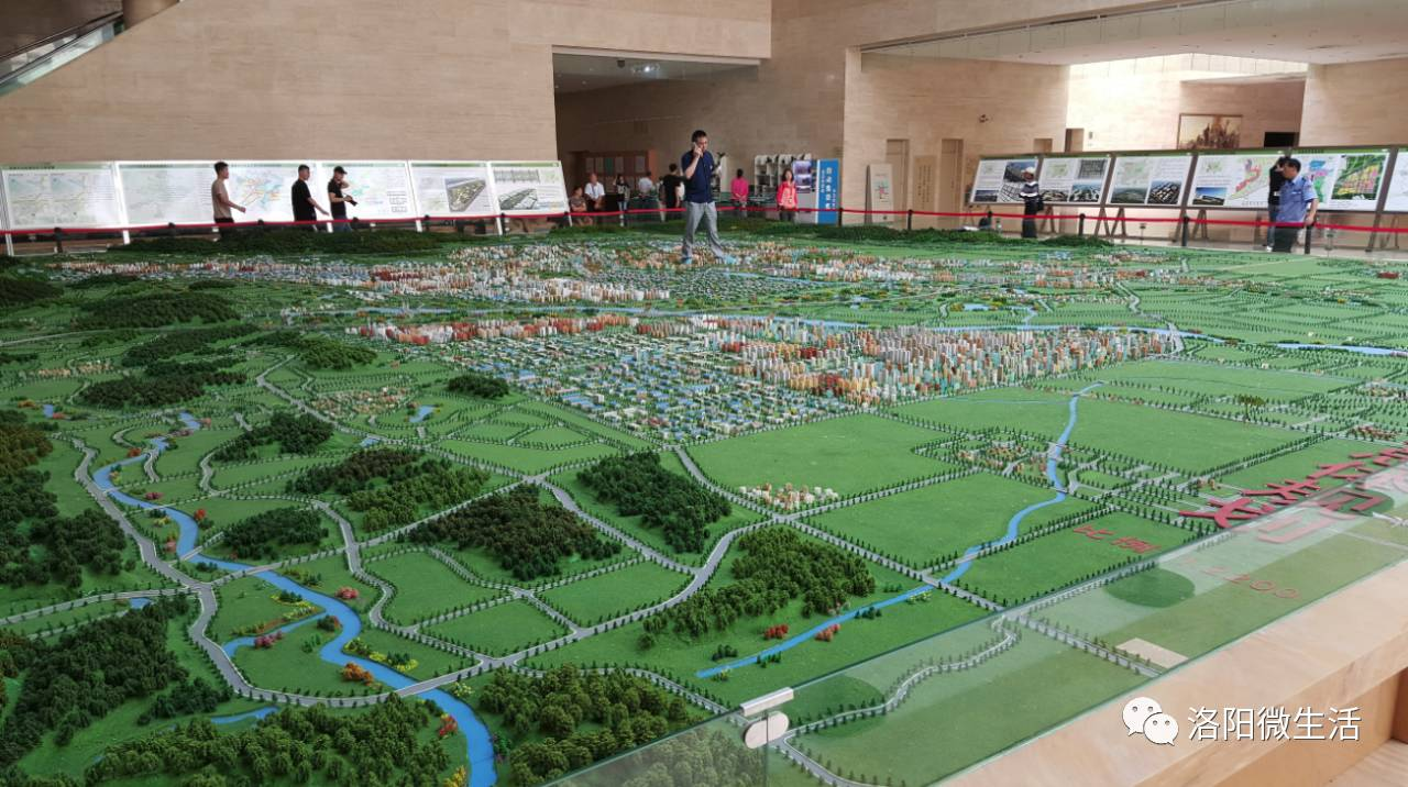 洛阳最新城市规划图流出 未来发展已经定下基调,关键信息都在这里了