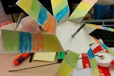DIY手工制作风车,带着孩子一起做吧