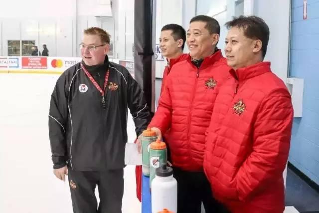 中国冰球选拔营站全纪录选拔结果一到两周内公布
