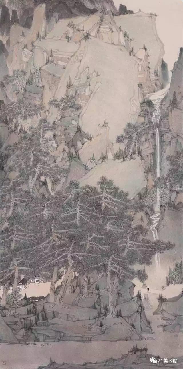 中国工笔画学会历届获奖作品回顾展亮相-中新网