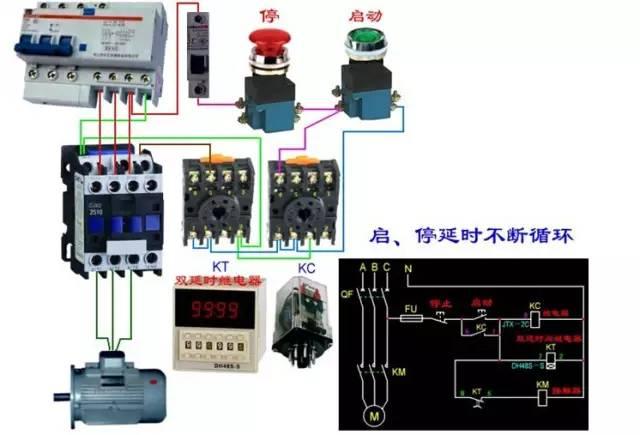 电气控制电路接线图,绝对要收藏