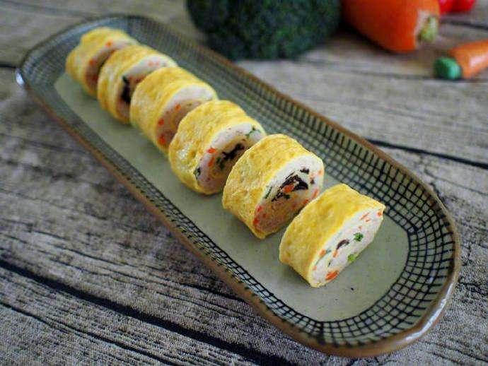 普通的蛋卷竟然做到这个步数,想不吃都难!超级软