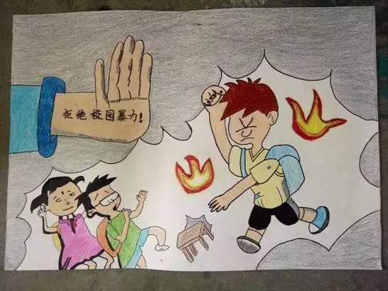 福州二十四中 文明交通进校园 艺术作品教育孩子们 文明守礼