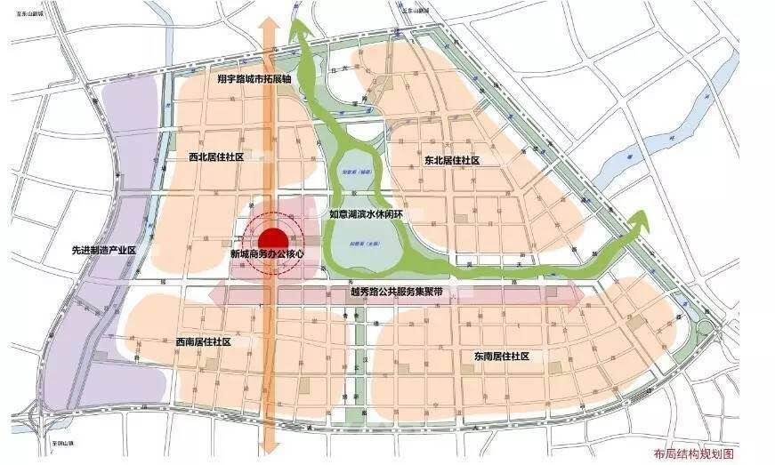 柘汪镇未来规划图