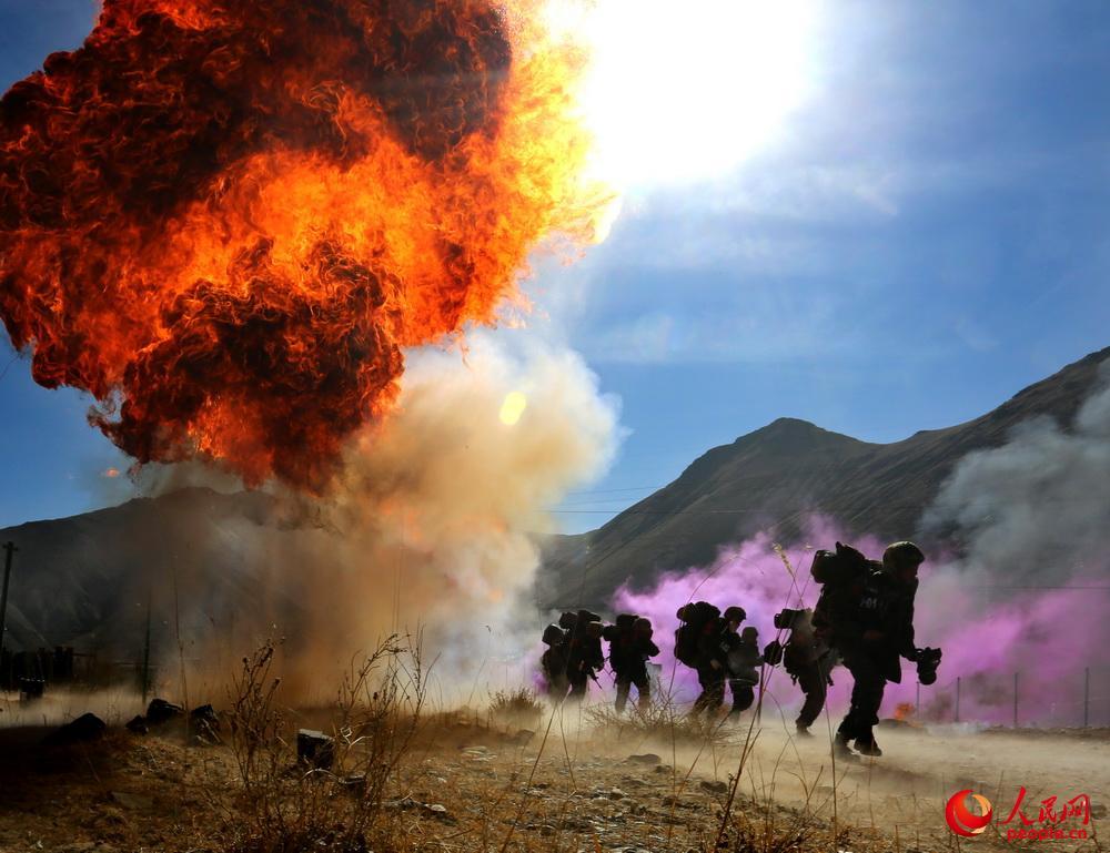 武警部队,忠诚使命勠力强军 组图图片