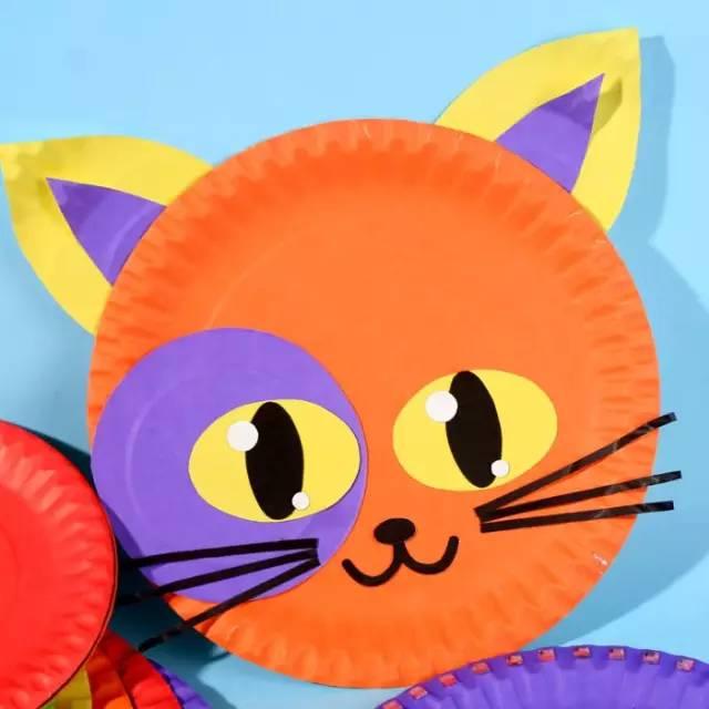 幼儿园纸盘手工制作大全,太漂亮!