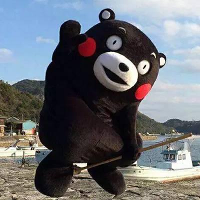 开心到飞起来 这一个周末,也不会太寂寞 因为熊本君要来!