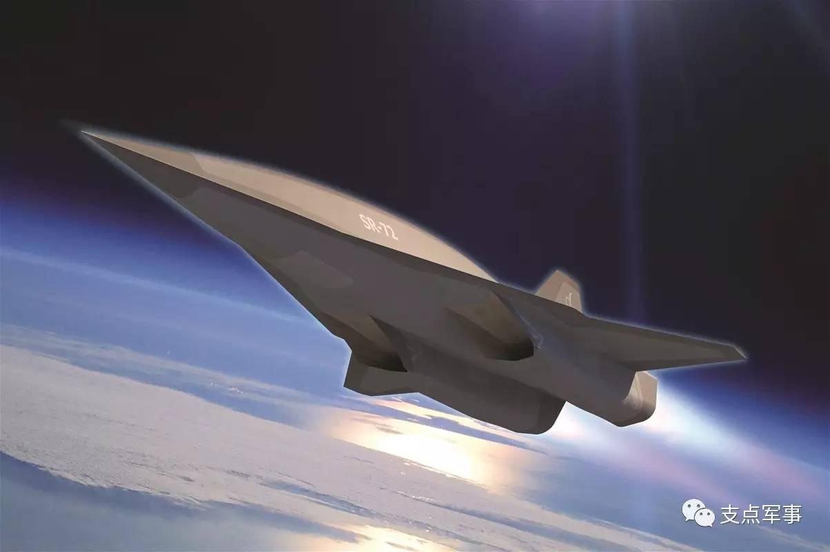 在6万米高空用6马赫飞行 黑鸟侦察机接班人SR 72最新研制进展