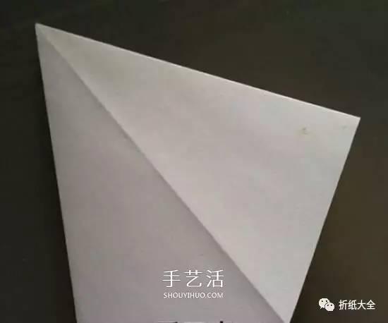 纸百合花的折法图解