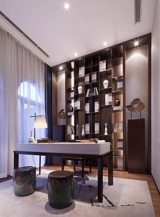 书房 茶室,才是新中式设计的最佳组合!图片