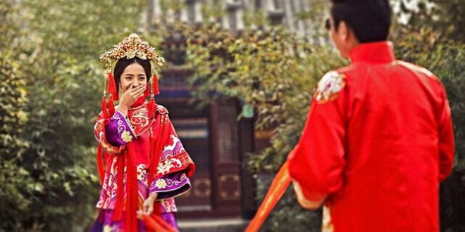 中式婚纱照特点解析 拍摄注意事项盘点图片
