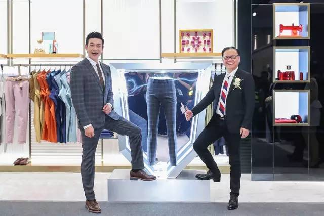 4F 九牧王 陆毅代言九牧王男装 格纹西装大长腿演绎 新绅仕主义