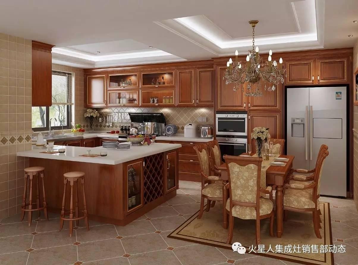 厨房风格知多少之古典欧式风格图片