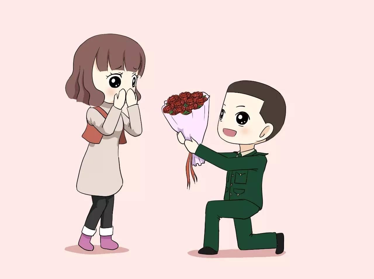 军嫂卡通_文/一名准军嫂