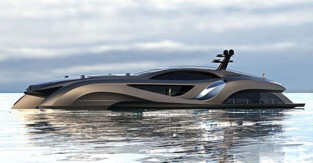 车子看腻了开腻了,那就来看看水里的游艇吧!