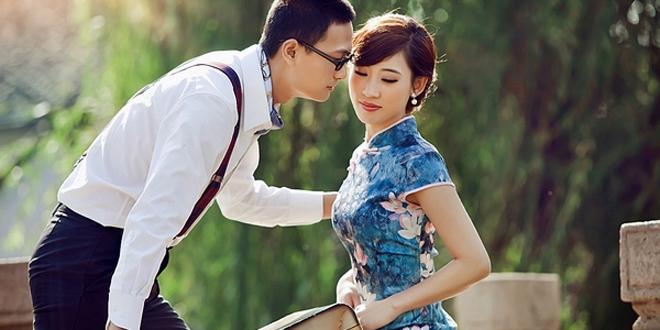 中式婚纱照旗袍怎么选 六大经典风格盘点图片