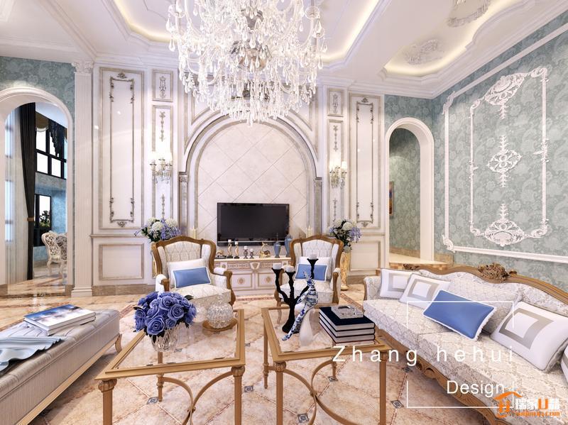 欧式风格——雍容华贵的装饰效果