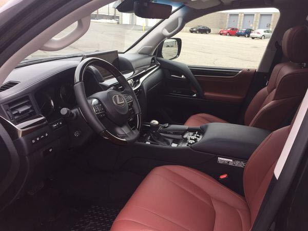 平行进口17款加版雷克萨斯LX570现车配置详情报价
