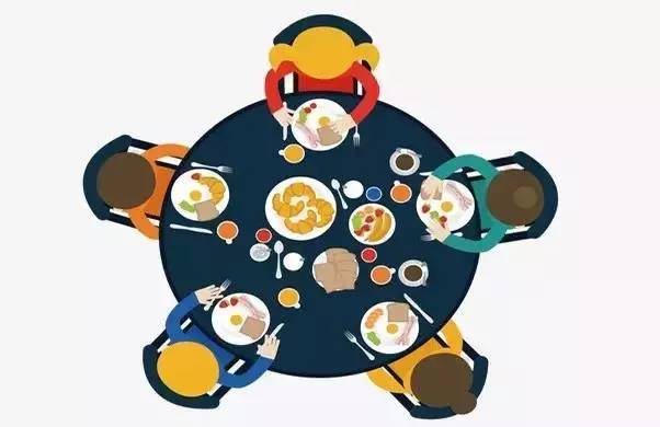 在企业日常实务中,经常会发生逢年过节等员工聚餐的情况,参与餐饮活动图片
