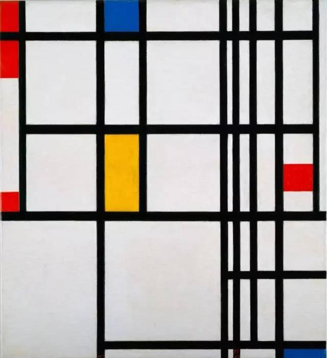 安后期作品属于冷抽象类型,-蒙德里安 用尽一生纠结,画直线 艺 人