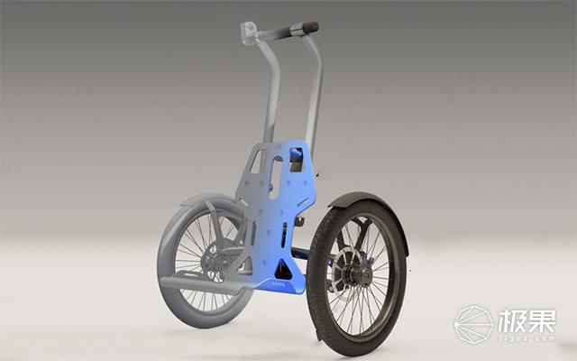 美帝已经这样买菜了,让自行车和手推车2in1 科技资讯 第2张