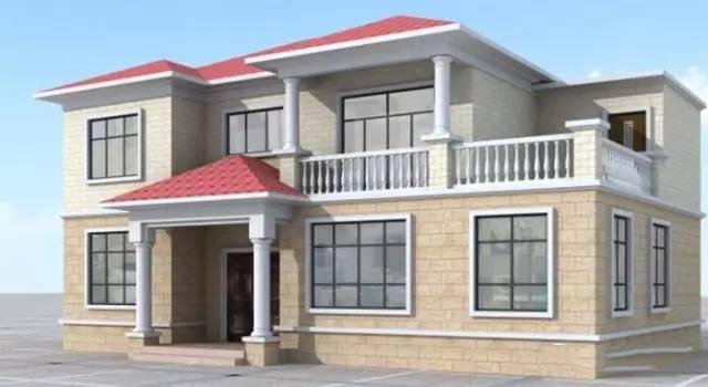 平浙江农村私人别墅设计图,14x9米造价20万内