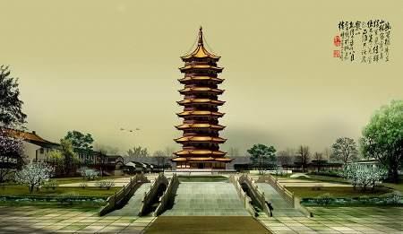 明朝年间,有一座琉璃塔,地位堪比清朝的圆明园