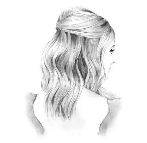 手绘 如何画出漂亮的头发