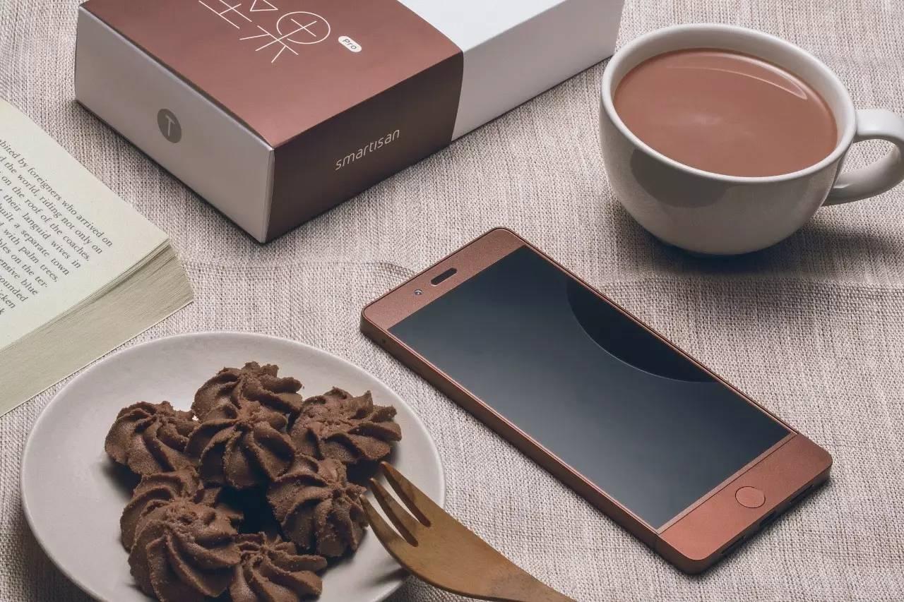 秀色可餐的 坚果 Pro 巧克力图片