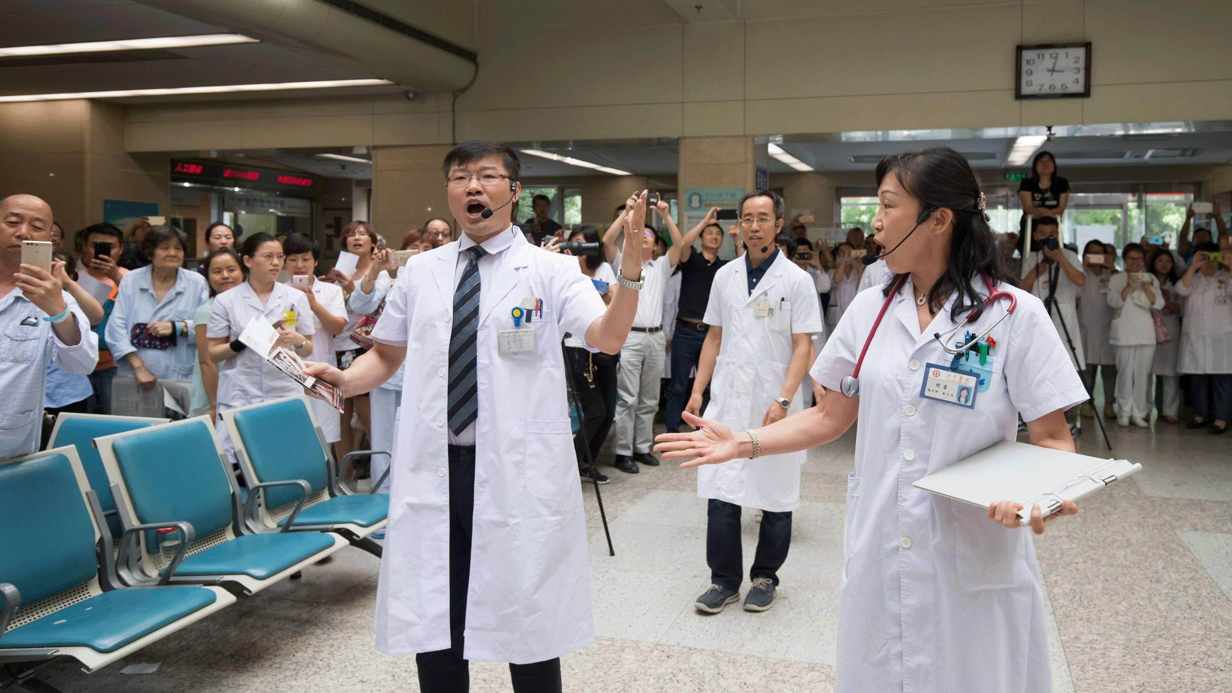 """北京医院快闪来袭  你愿器官捐献,我望生死不离"""""""