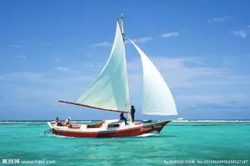 手们将学习驾驶帆船的技能,体验帆船冲浪的刺激与快乐,锻炼胆量,图片