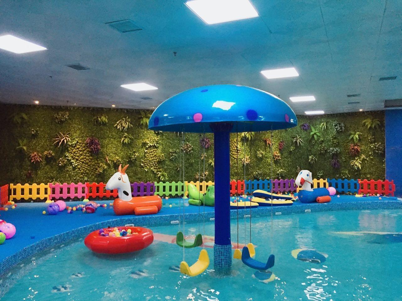 郑州超大室内儿童水上乐园,水滑梯 漂流渠 水上秋千 不限次暑期卡特惠