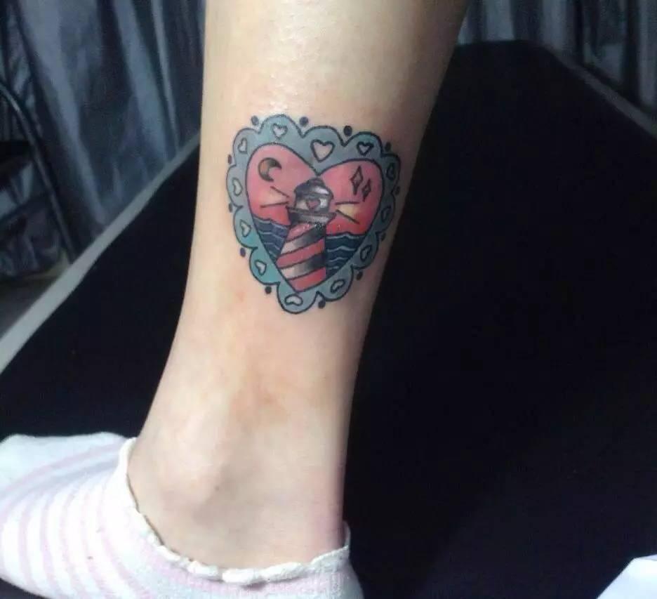 钟爱一生纹身手绘