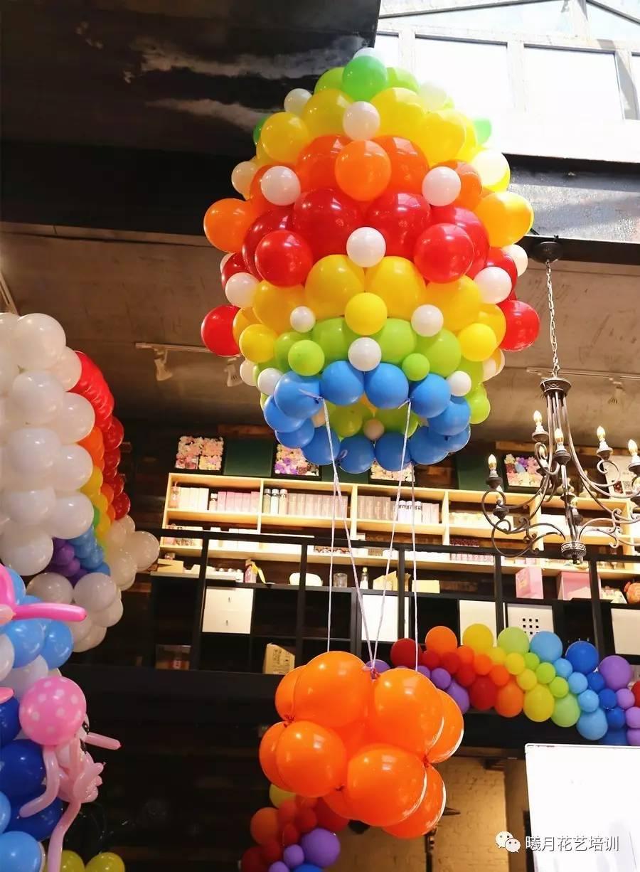 魔法气球装饰课程丨婚礼旺季,唯美梦幻的婚礼布置靠它啦