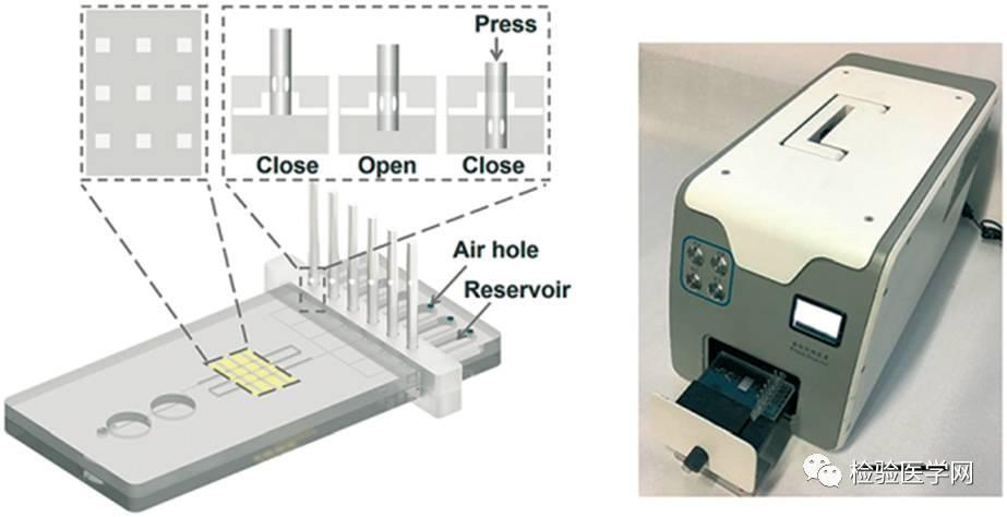 当poct遇到微流控芯片-定量免疫分析图片