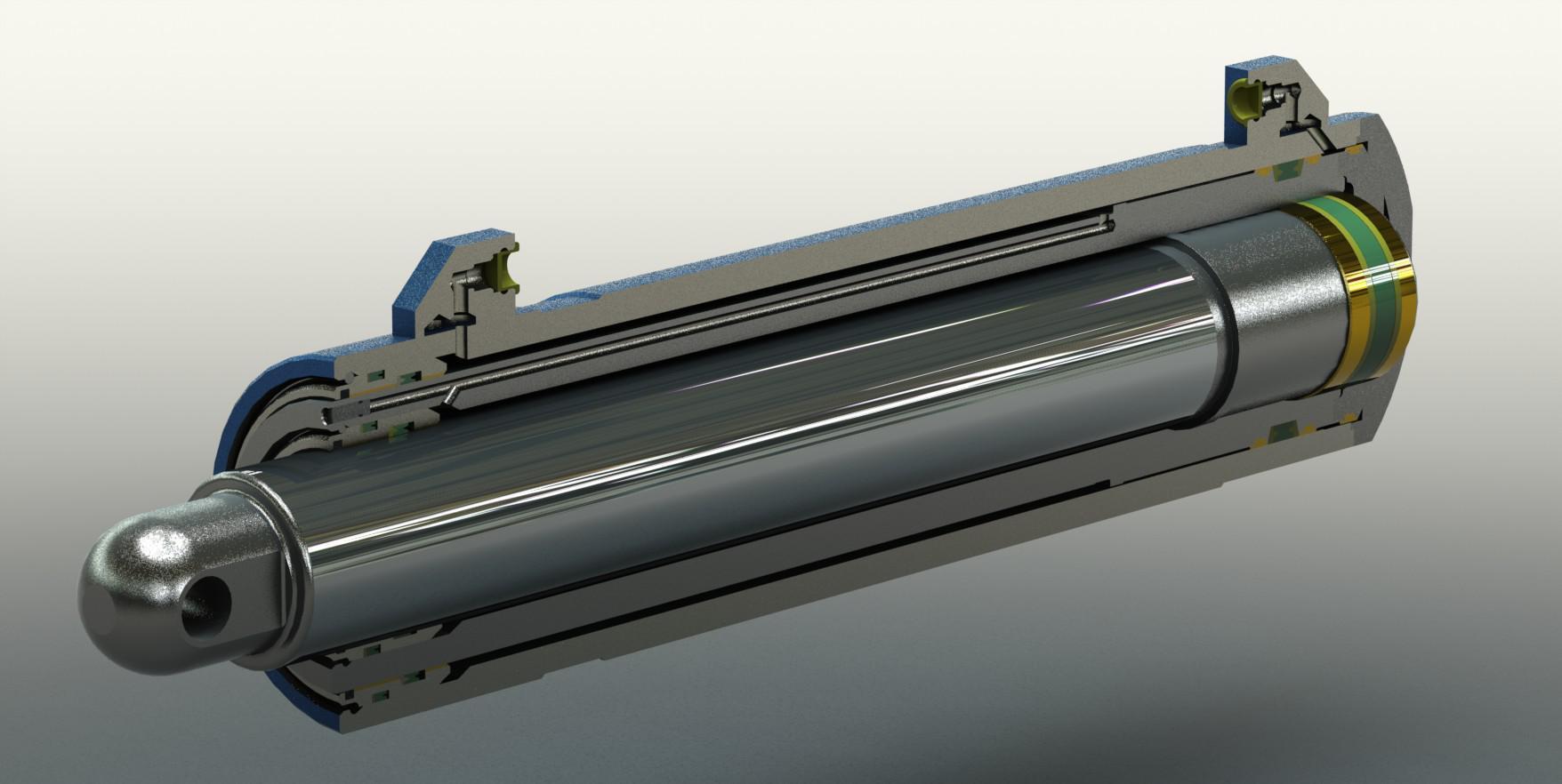 液压油缸活塞杆是怎么加工热处理的图片